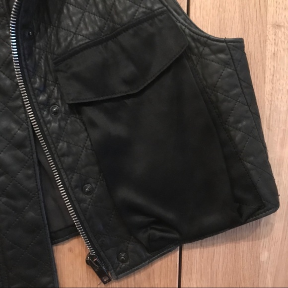 rag & bone Jackets & Coats - Rag & Bone Leather Vest